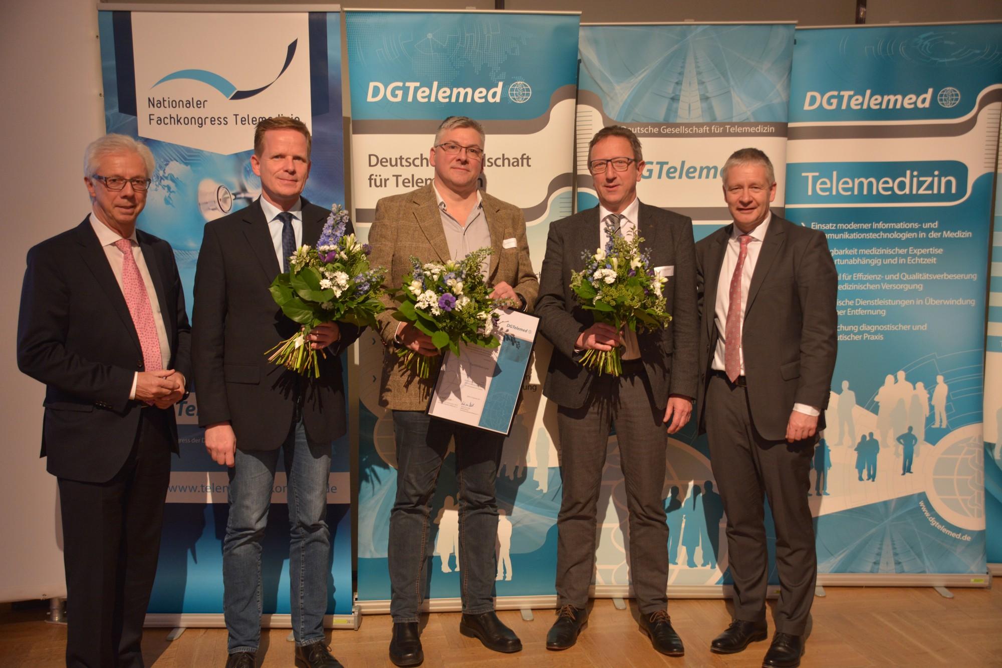 Preisvergabe Telemedizinspreis 2017