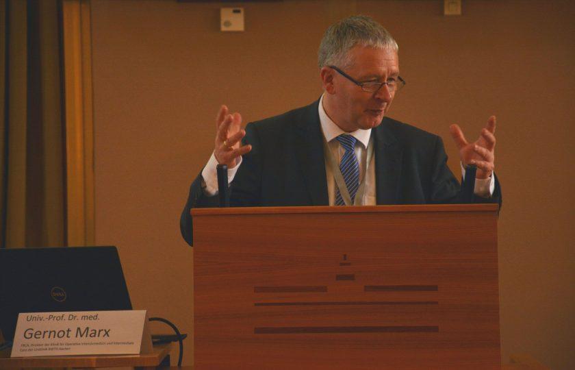 Univ.Prof. Dr. med. Gernot Marx, Direktor der Klinik für Operative Intensivmedizin und Intermediate Care an der Uniklinik RWTH Aachen und Konsortialführer bei TELnet@NRW. (Foto: ZTG)