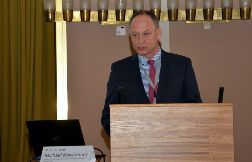 Prof. Dr. med. Michael Masanneck, Mitglied im Expertenbeirat des Innovationsfonds. (Foto: ZTG)