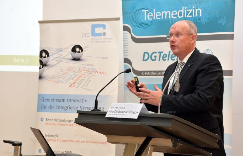 Priv.-Doz. Dr. med. Jörg Christian Brokmann, Leiter der Notaufnahme in der Uniklinik RWTh Aachen.