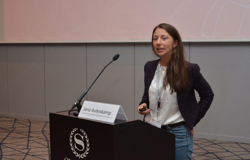 Jana Aulenkamp, Bundesvertretung der Medizinstudierenden in Deutschland e. V.