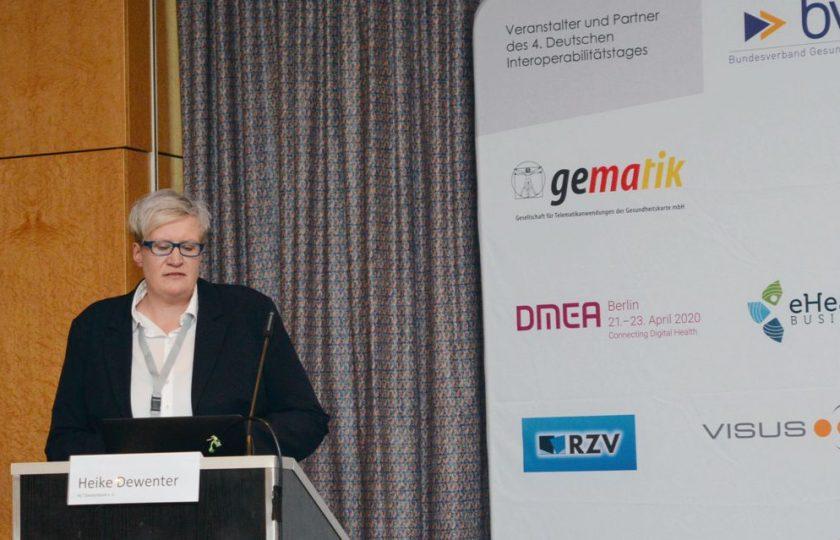 Heike Dewenter, HL7 Deutschland e. V.