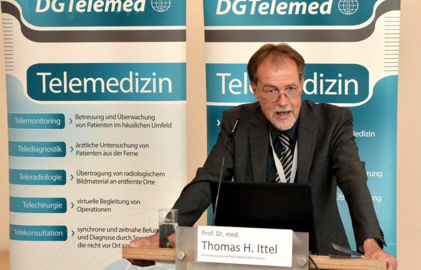 Prof. Dr. med. Thomas H. Ittel, Vorstandsvorsitzender der Uniklinik RWTH Aachen