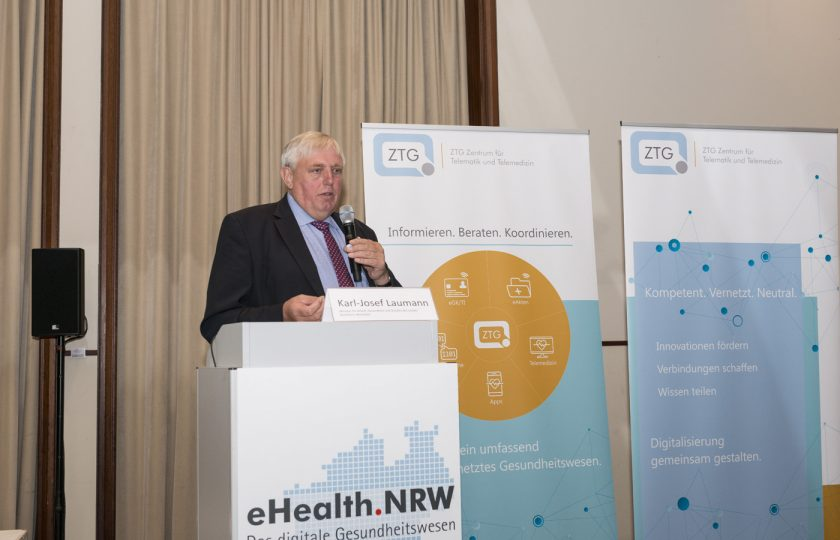 Karl-Josef Laumann, Minister für Arbeit, Gesundheit und Soziales des Landes Nordrhein-Westfalen.
