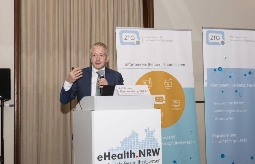 Prof. Dr. med. Gernot Marx, FRCA, Direktor der Klinik für Operative Intensivmedizin und Intermediate Care der Uniklinik RWTH Aachen, Mitglied im ZTG-Forum Telemedizin.