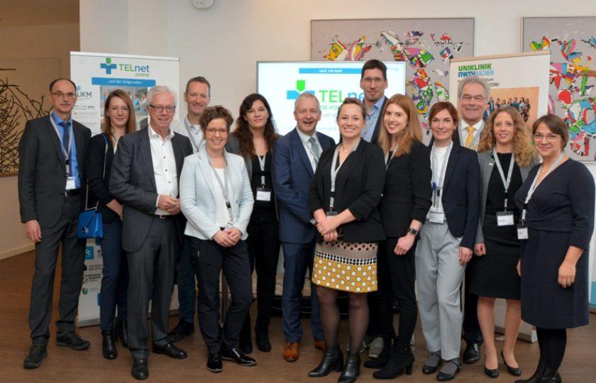 Konsortialpartner des Innovationsfondsprojektes TELnet@NRW waren zu Gast mit einem Stand auf dem 10. Nationalen Fachkongress Telemedizin.