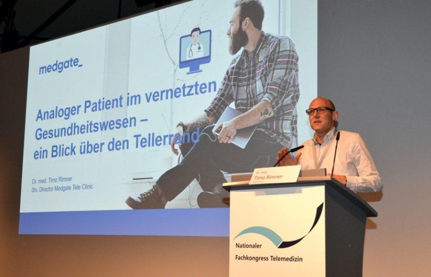 Dr. med. Timo Rimner,  Leitender Arzt der Medgate AG Basel, Schweiz