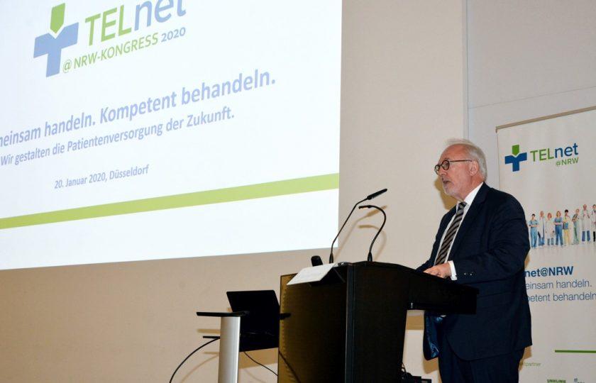 Dr. Rudolf Henke, Präsident der Ärztekammer Nordrhein