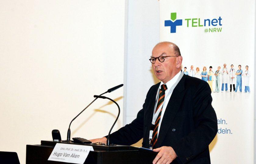 Univ.Prof. Dr. med. Dr. h. c. Hugo Van Aken, Ärztlicher Direktor am Universitätsklinikum Münster