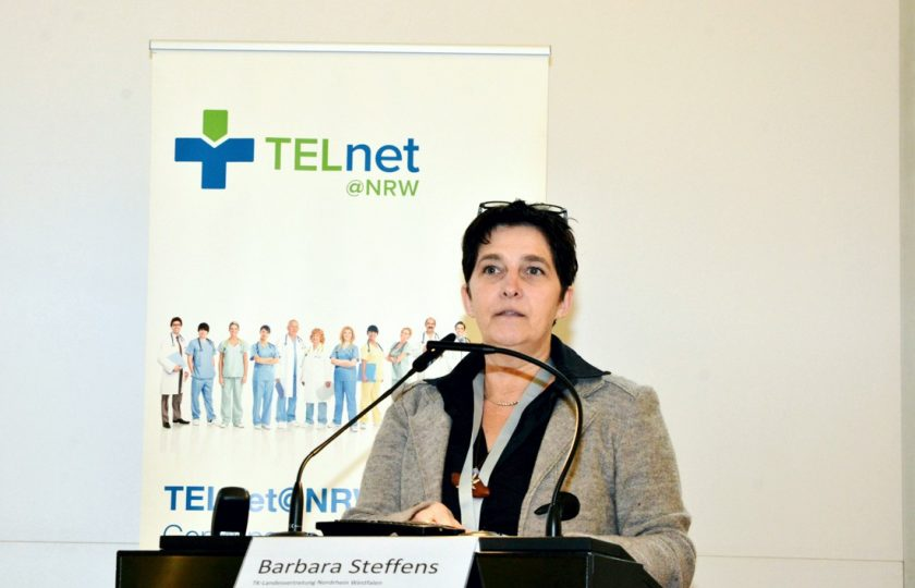 Barbara Steffens, Leiterin der TK-Landesvertretung Nordrhein-Westfalen